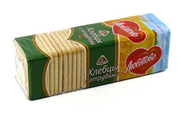 Хлебцы любятово с отрубями