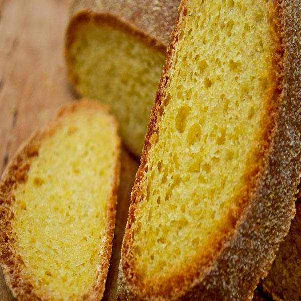 Кукурузный без дрожжевой хлеб