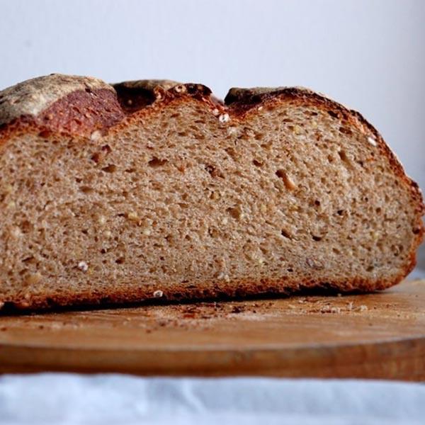 Полезный цельнозерновой хлеб