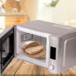 Греем чёрствый хлеб в микроволновке