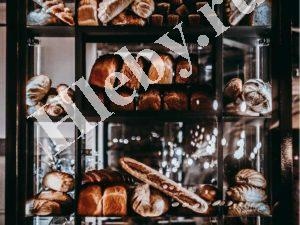 Хлеб на витрине