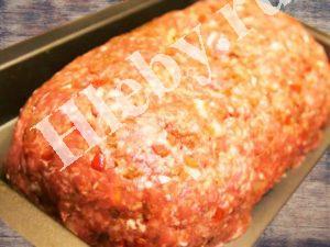 Мясной хлеб с сальсой