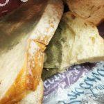 Белый бездрожжевой хлеб с плесенью