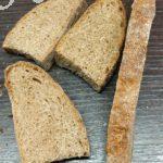 Бездрожжевой чёрствый хлеб