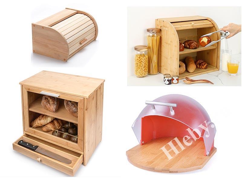 Обзор 25 деревянных хлебниц