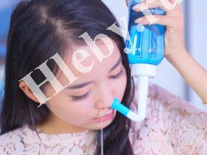 Промывка носа