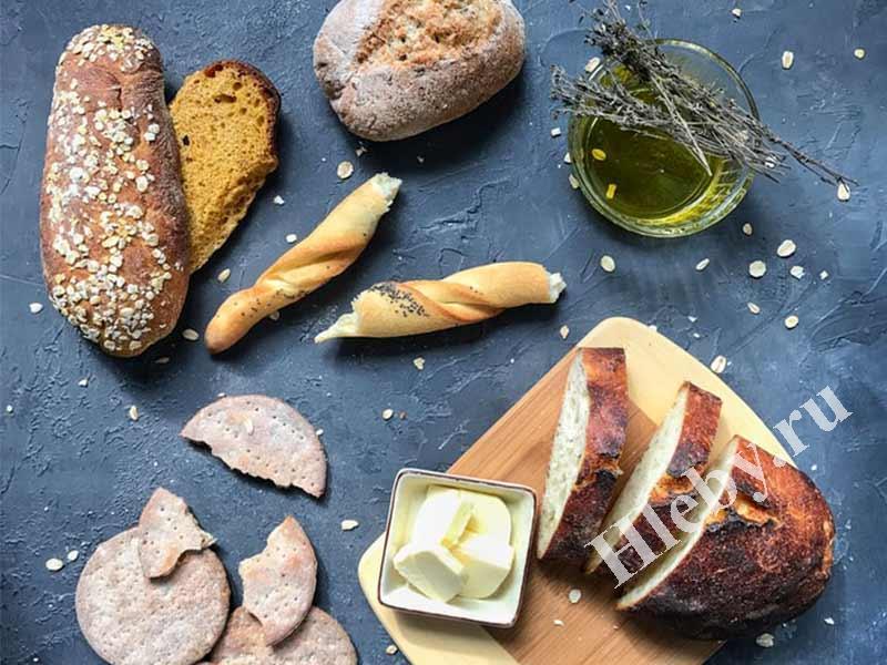 Хлеб без глютена рецепты приготовления